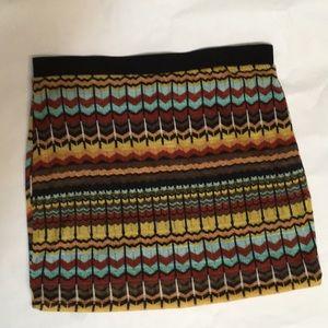 Xhilaration Multi colored skirt